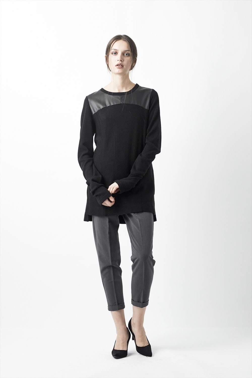 Layered Pullover - ag-1011