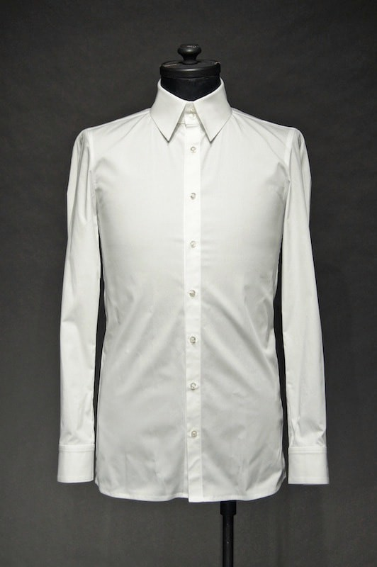 GalaabenD  16SS BASIC Broadcloth Stretch Shirt WHITE