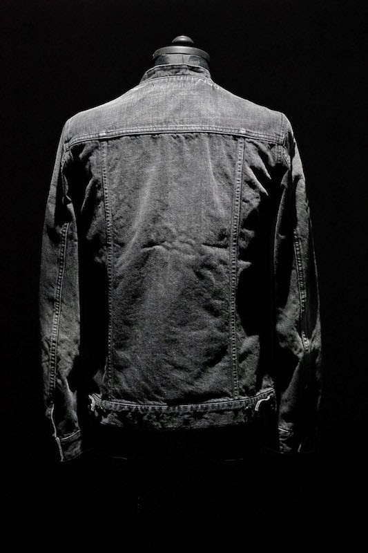 DIET BUTCHER SLIM SKIN [DBSS] 16SS No Colour Pleats Denim Jacket BLACK