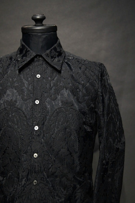 GalaabenD 16SS Organdy Rococo Embroidery Shirt