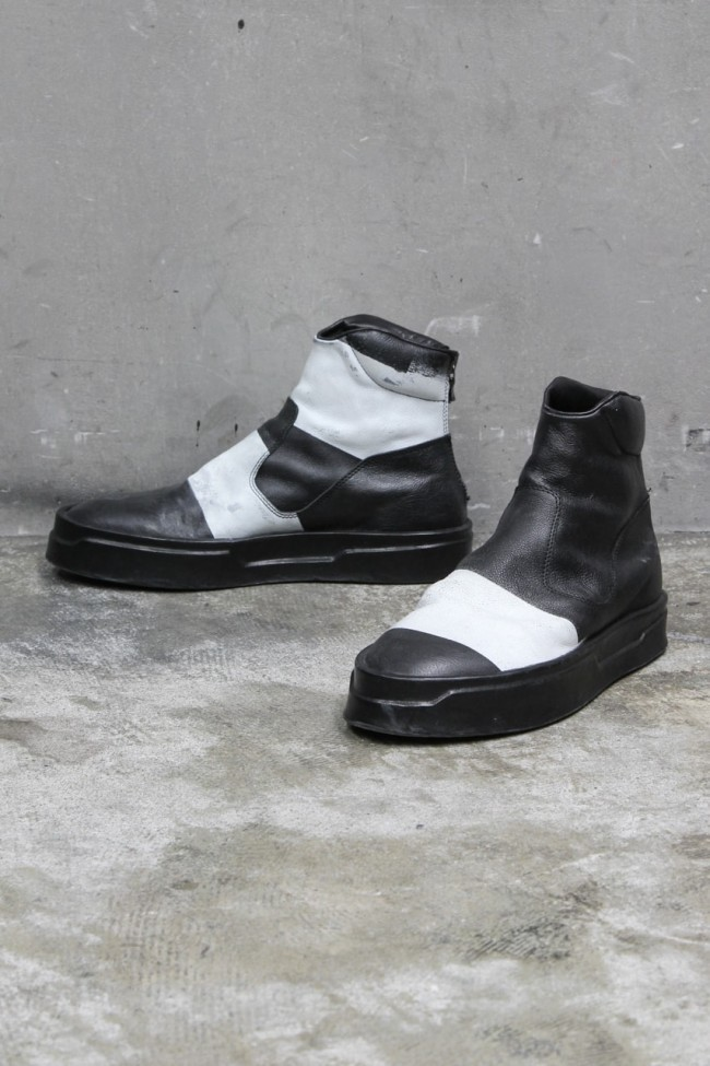16AW High-cut shoes