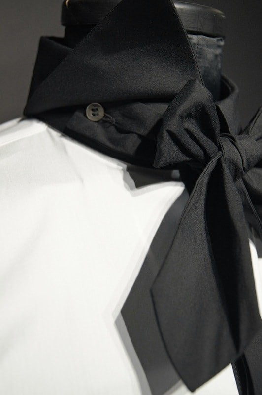 GalaabenD 16SS BASIC BroadCloth Stretch Shirt WHT×BLK