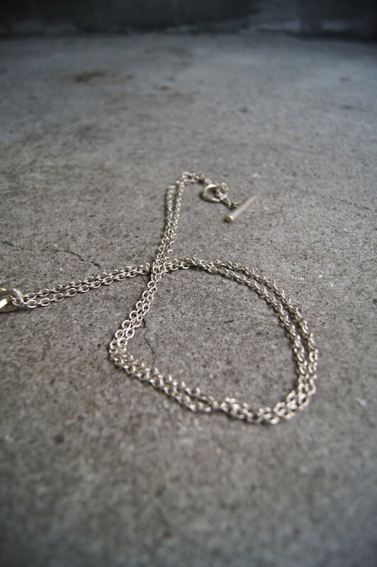 Parts of Four Plate Necklace -Half-