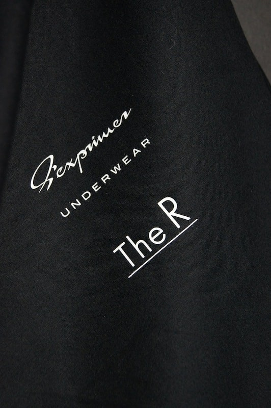 Sexprimer UNDERWEAR  The R LIMITED (BLACK+CHARCOAL+Pouch)
