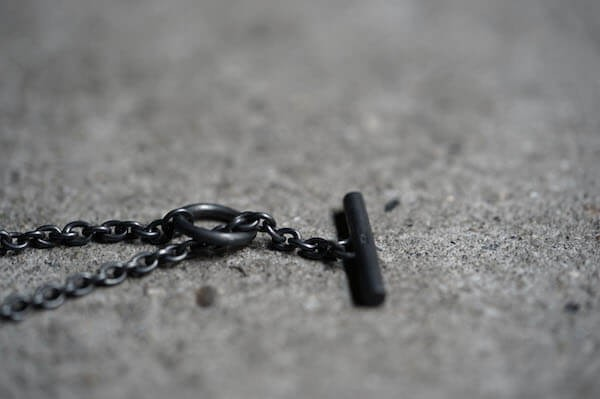 Parts of Four 16AW SPIKE NECKLACE