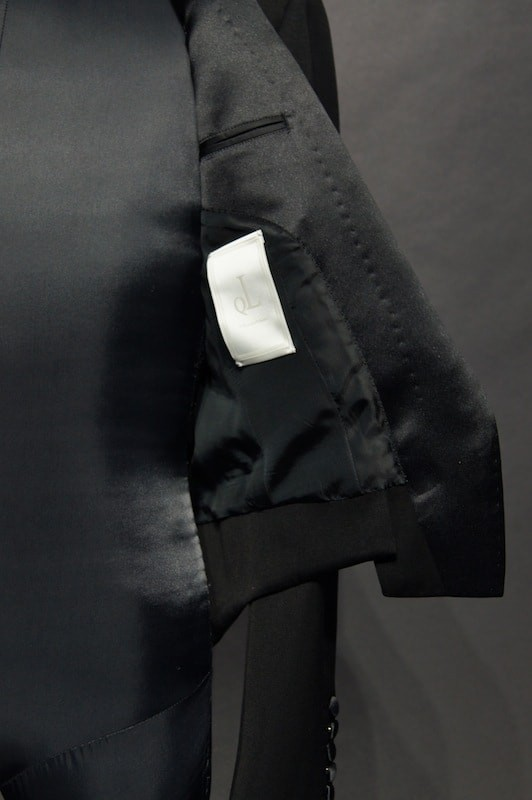 QL Mansion Maker × The R, Made to Order TAILORED LINE CLASSIC TUXEDO MESS JK