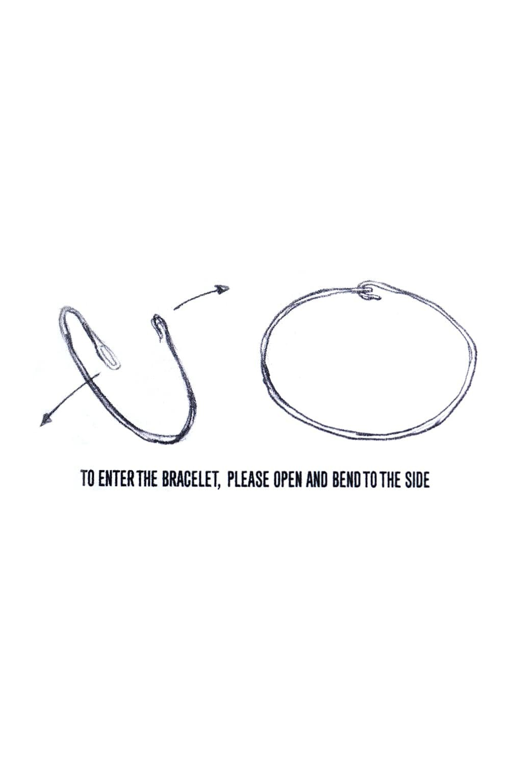 Plain Hook Bangle (PL)