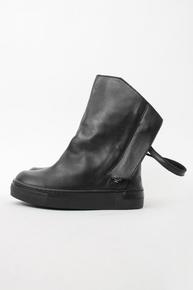 """16AW ARAIA KIDS """"JOY COLORS"""" NERO Double Strap Boots SIZE 26 (2〜3 Years old)"""