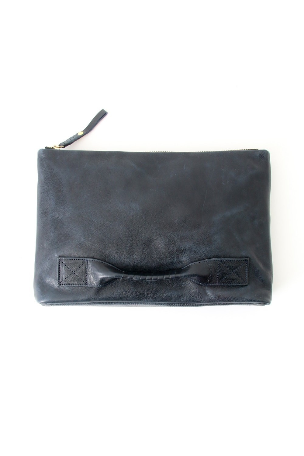 4 handle file - Clutch bag - Navy-Navy-Free