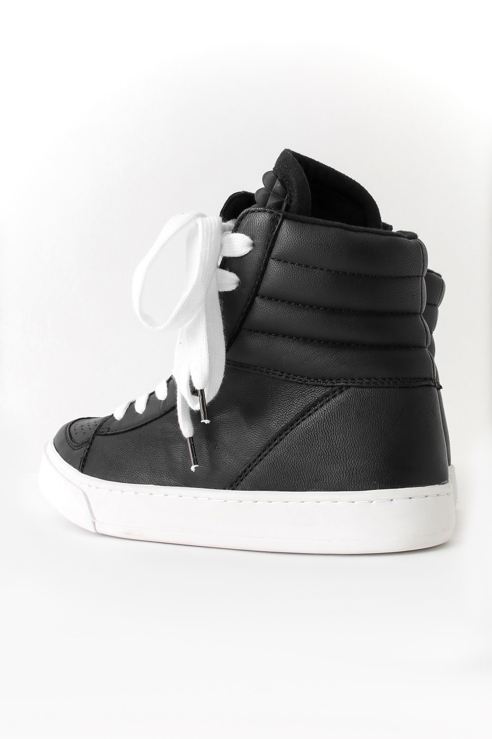 DIET BUTCHER SLIM SKIN [DBSS] 16AW Twisted Sneakers BLACK