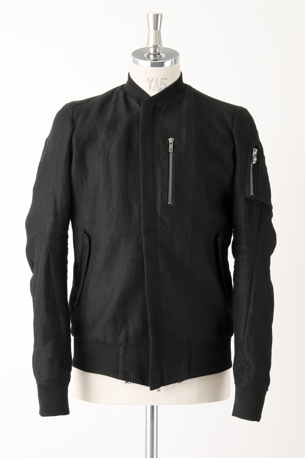 Ramie Flight Jacket