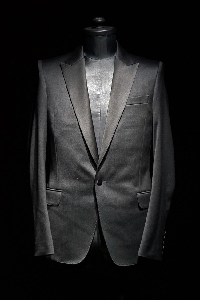 16AW Tuxedo Cloth Stretch 1B Tailored Jacket