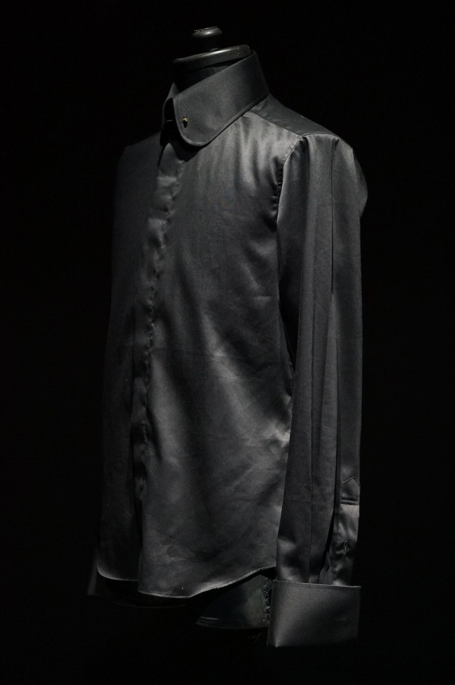 "16SS TAILORED LINE ""Round Collar"" SHIRTS (Pin Hole) BLACK"