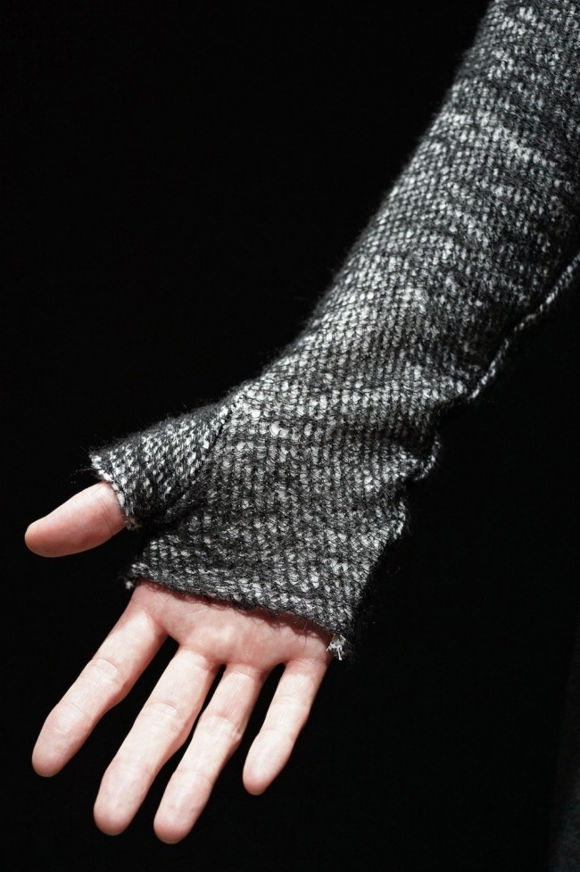 16AW Cotton Wool Mixed Turtle Neck Knit