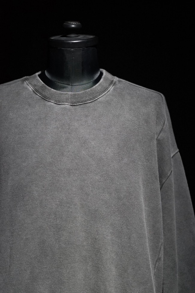 16W Pigment dyed loose pullover