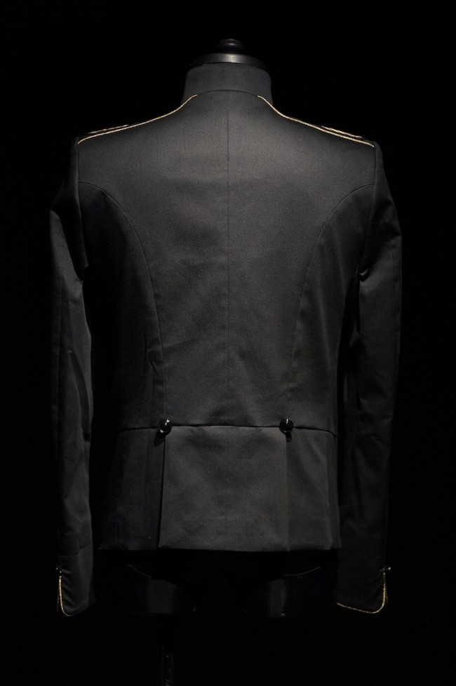 GalaabenD  16S Birds Eye Stretch Napoleon Jacket