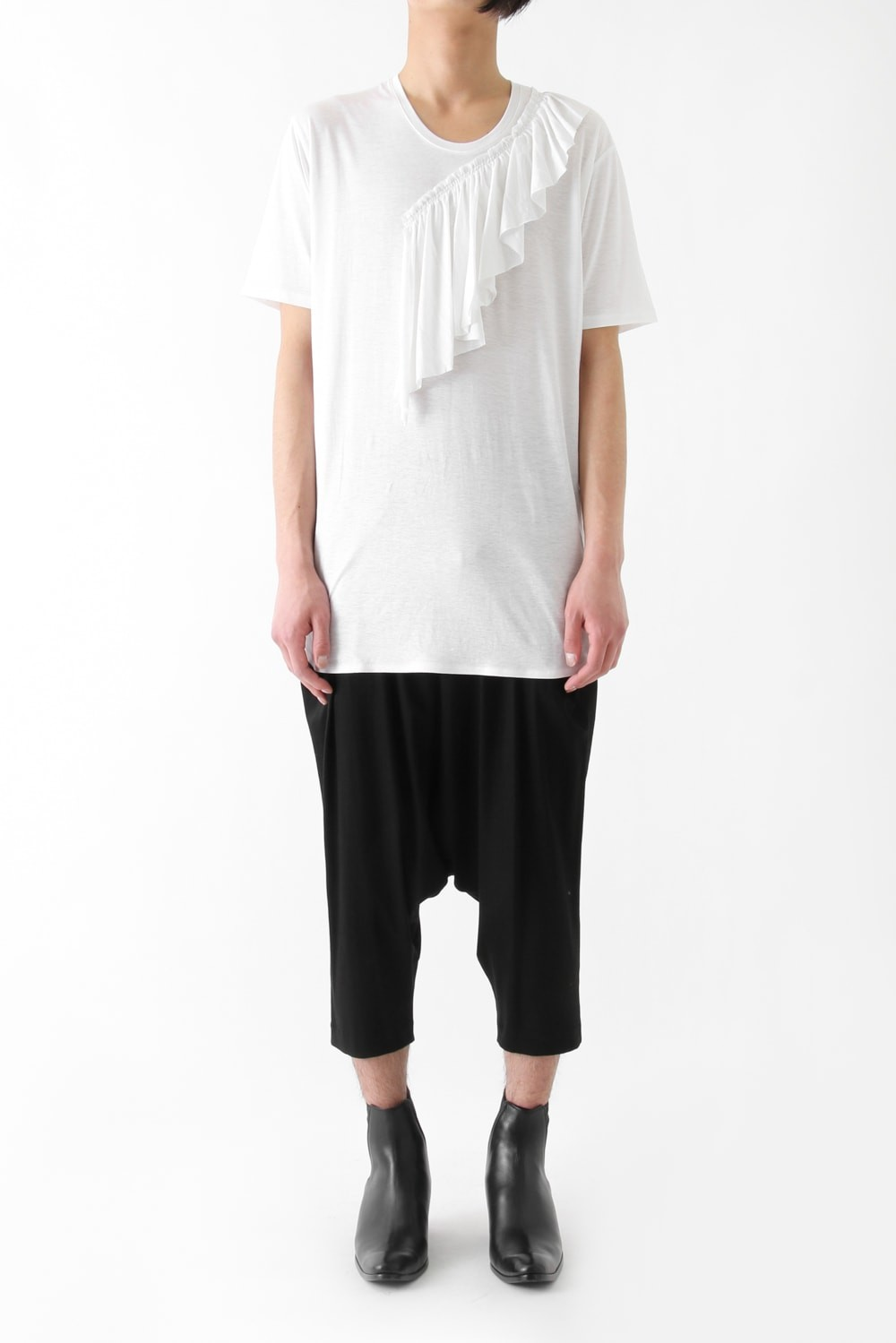 17S Micro Lyocell Linen Plain Stitch OFF WHITE