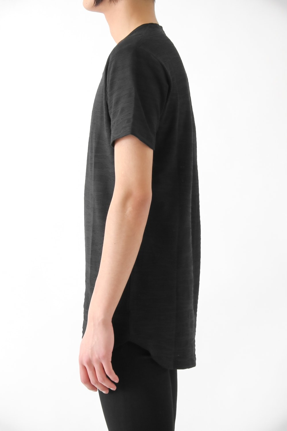 17S COOL MAX Links Jacquard Loose T