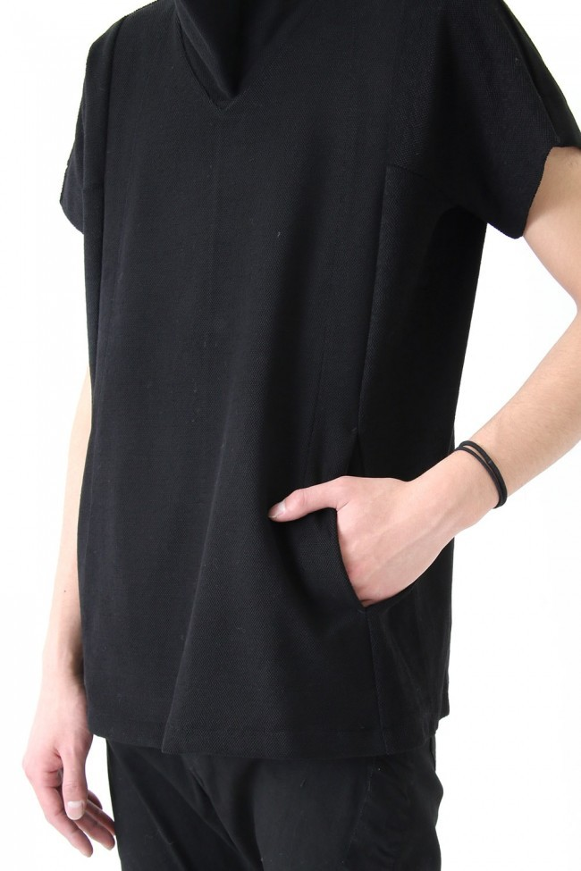 17SS Over High Neck Cut-Sew