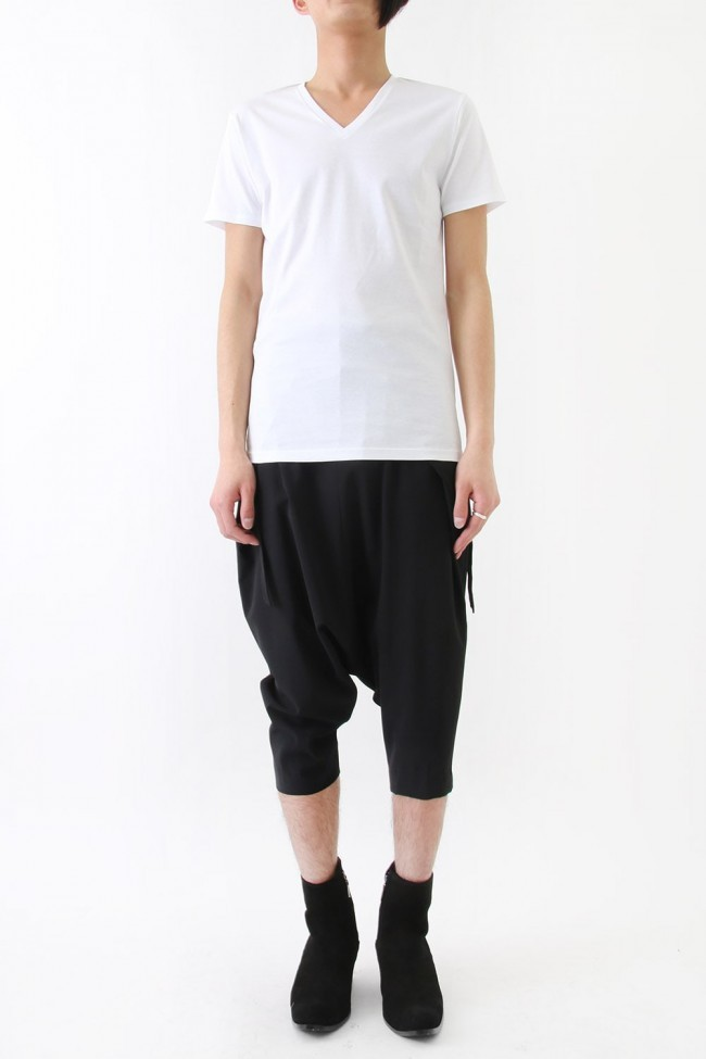 17SS Georgette Stretch Sarouel Pants