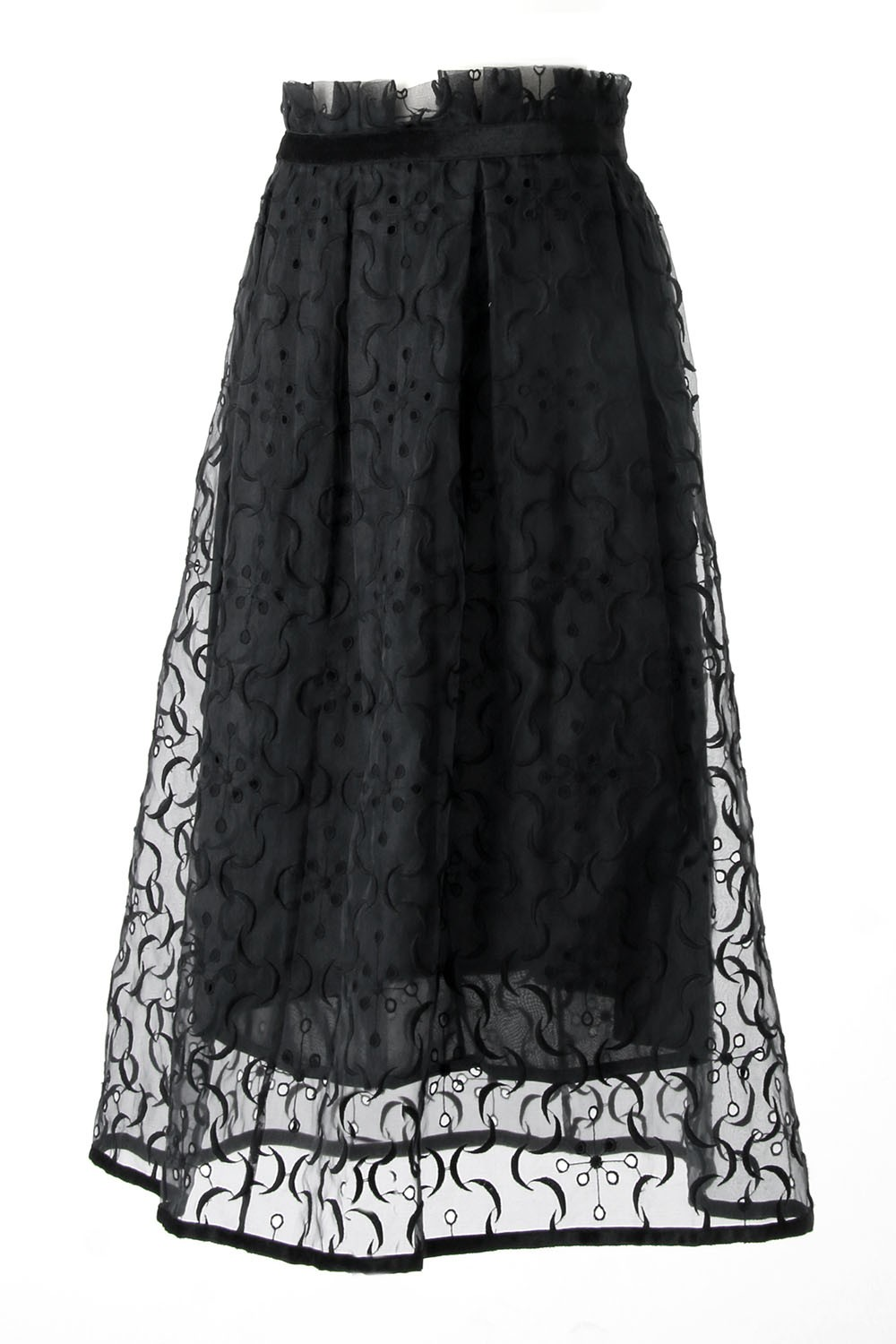 SILK LACE SKIRT SATOKO OZAWA