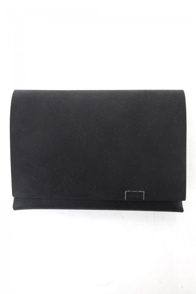 No,No,Yes!  -shosa- LIMITED Short Wallet 1.0 (NUBUCK) BLACK