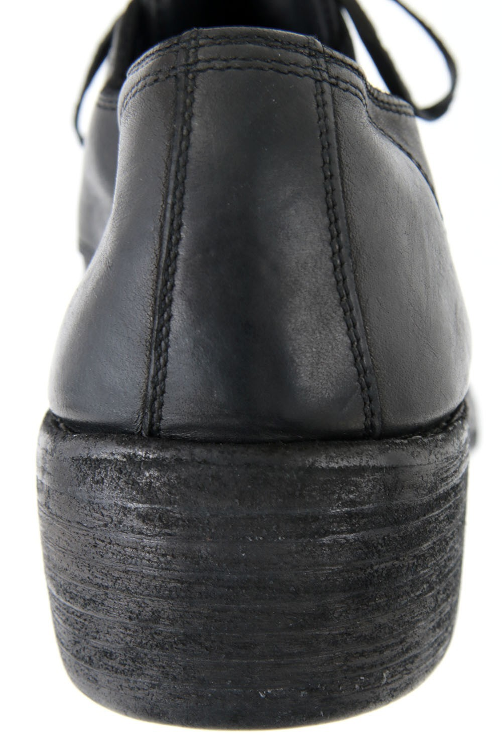 Classic Derby Shoes Double Sole - Horse Full Grain Leather