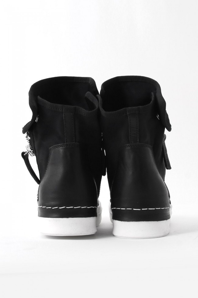 17SS NYCER Side ZIP Flap Sneakers