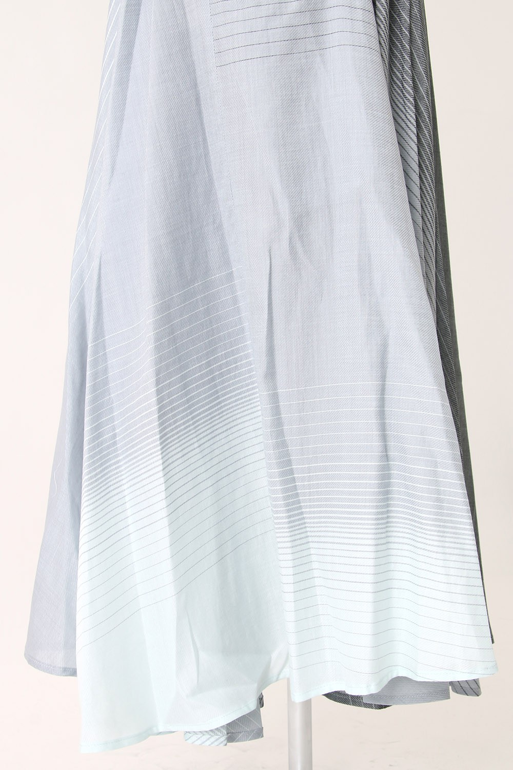 Shuttle Silk Cotton Gradation Skirt - DK11-05-S04