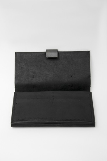 Cow Leather Long Wallet