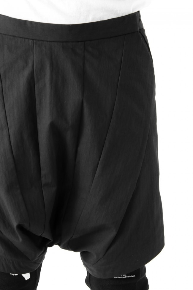 17SS Seamed Crotch Shorts