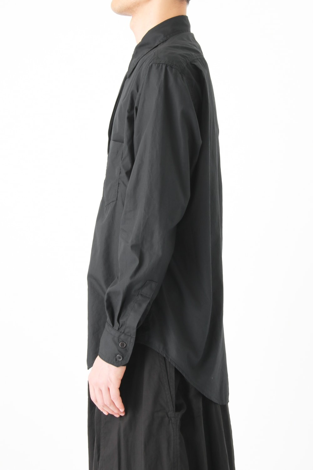 Twist Front Basic Shirt
