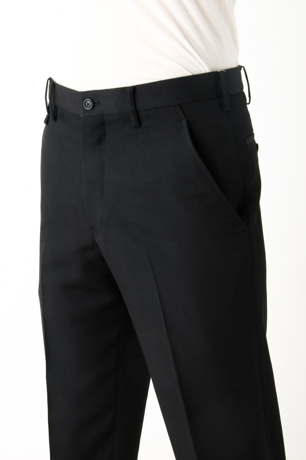 Wool Slacks Hem Zip