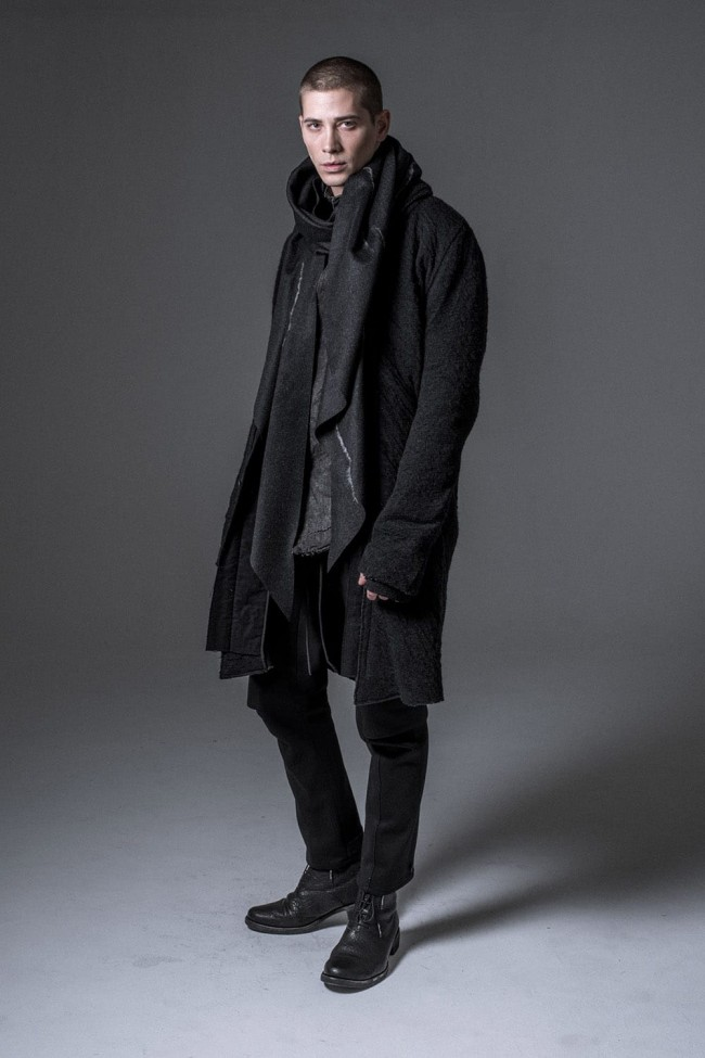 Norway wool dual-layered fabric coat