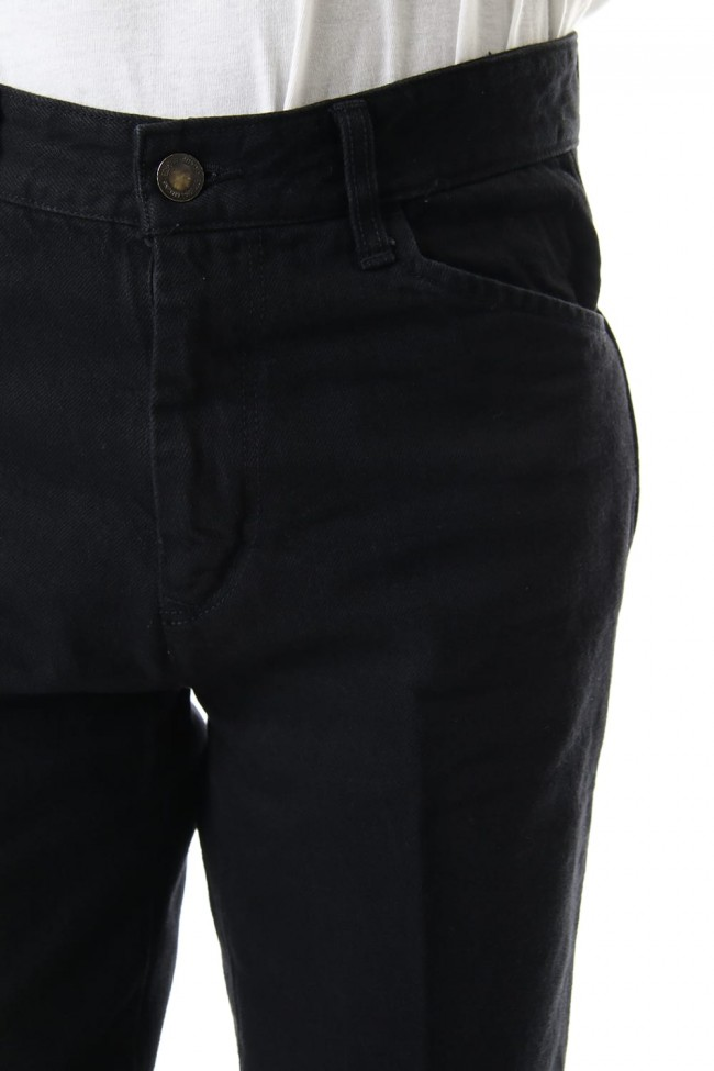 KUROKI Denim STA-PREST Pants - Black