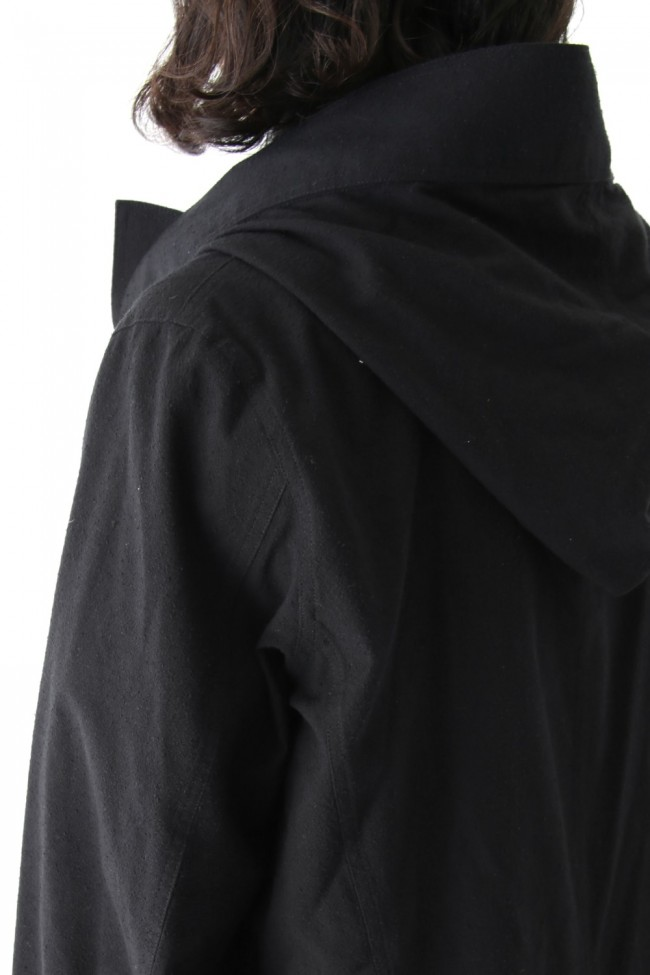 Wrapping Hooded Coat