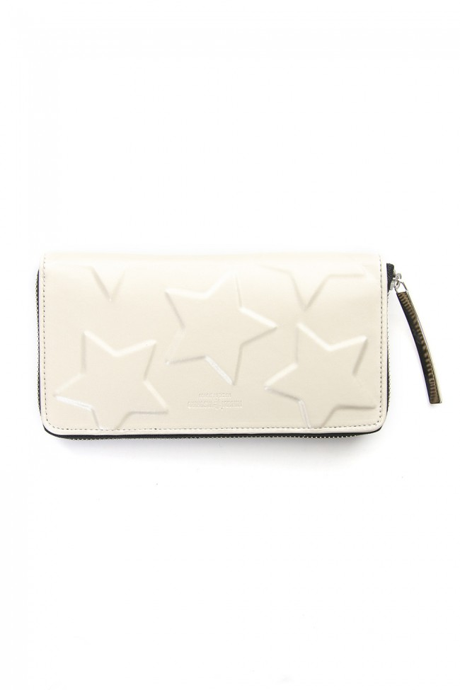 STAR Invisible Long Wallet Silver