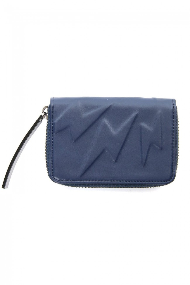 SD Invisible S Wallet Navy