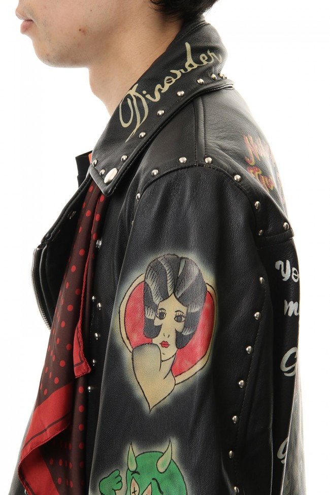 PAINTED RIDERS JACKET