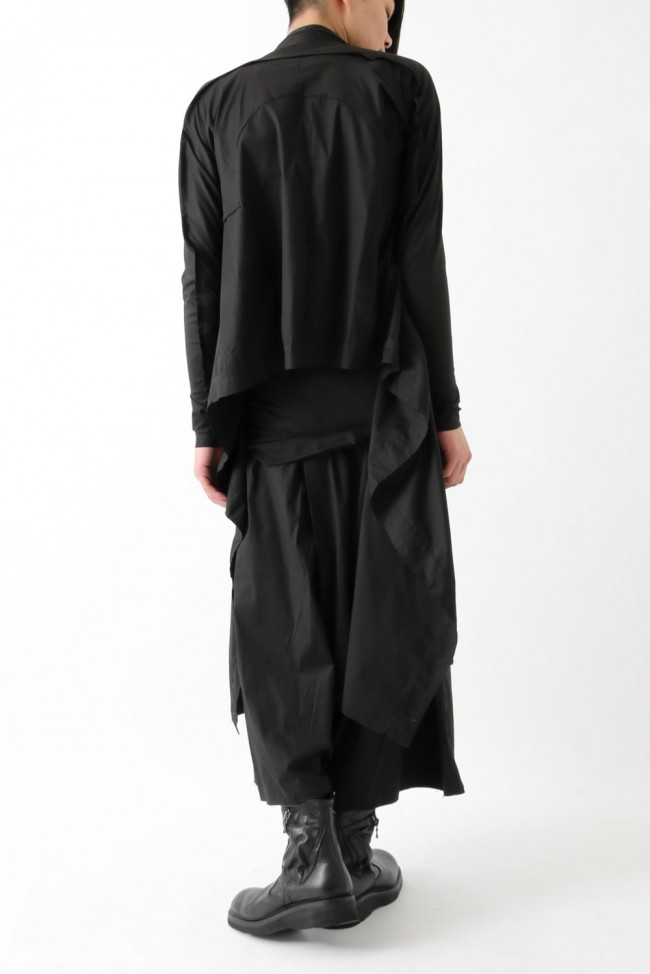 "17SS ""GIN"" loose fit twisted trousers"