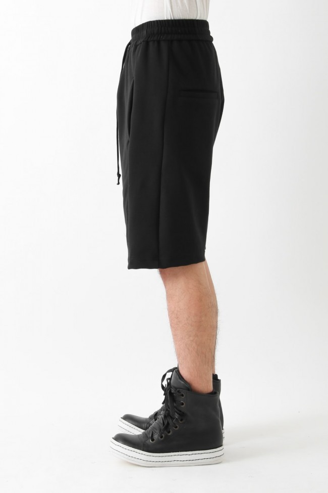 "17SS ""EZ-II"" dropcrotch paneled shorts"
