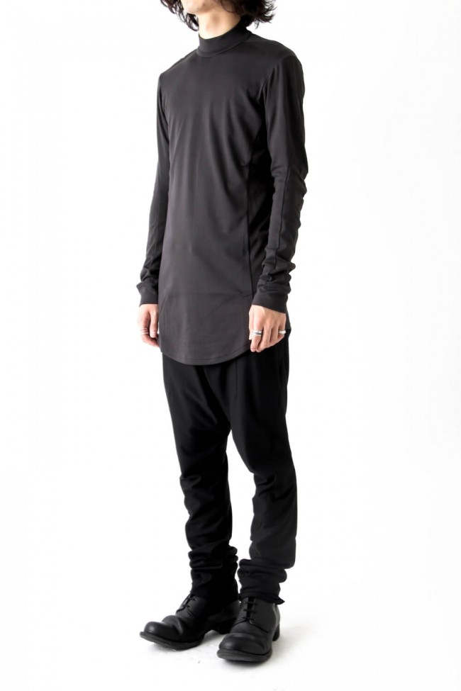 Devoa Long Sleeve Brushed Vintage Jersey-002
