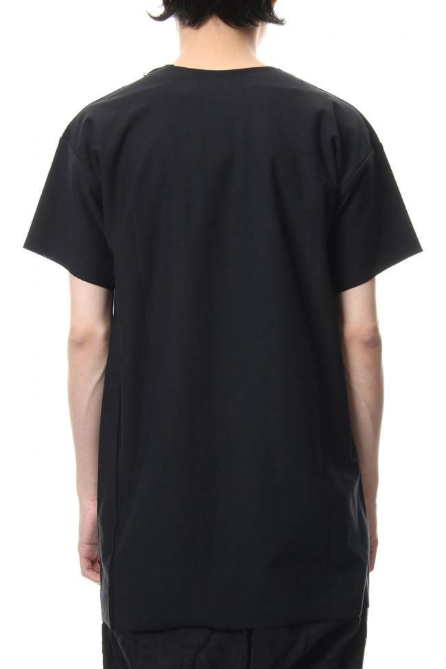 T-Shirts Basic Jersey Black Print - CT56SP-LJ40