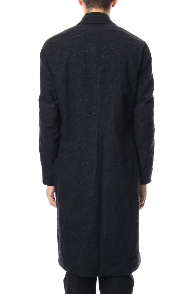 Coat Wool Printed