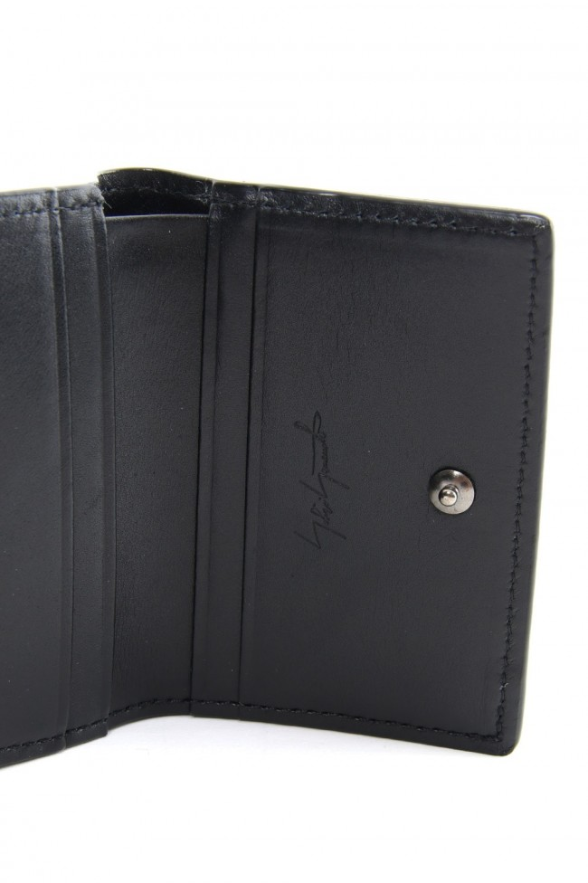 Gloss smooth leather Tri-fold wallet S - DV-A04-701