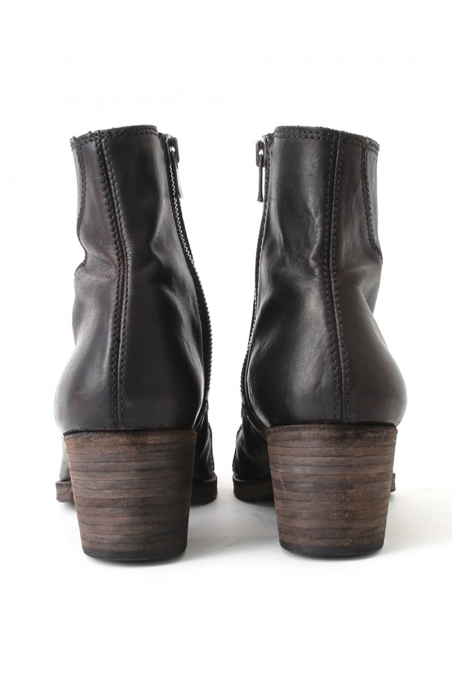 """16SS """"BULLET"""" High Heel Twisted Seaming Boots"""