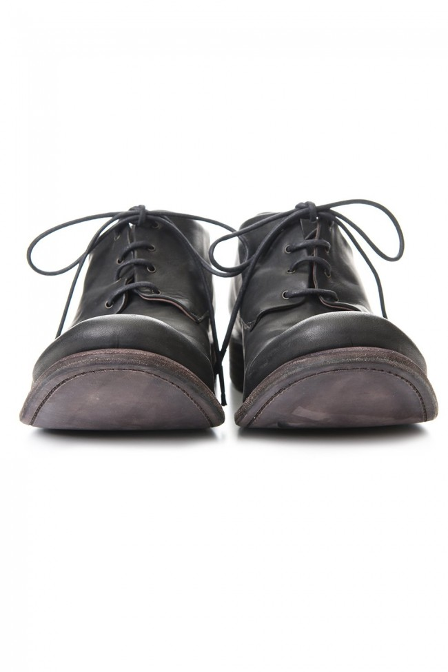 Classic shoes horse leather - Charcoal