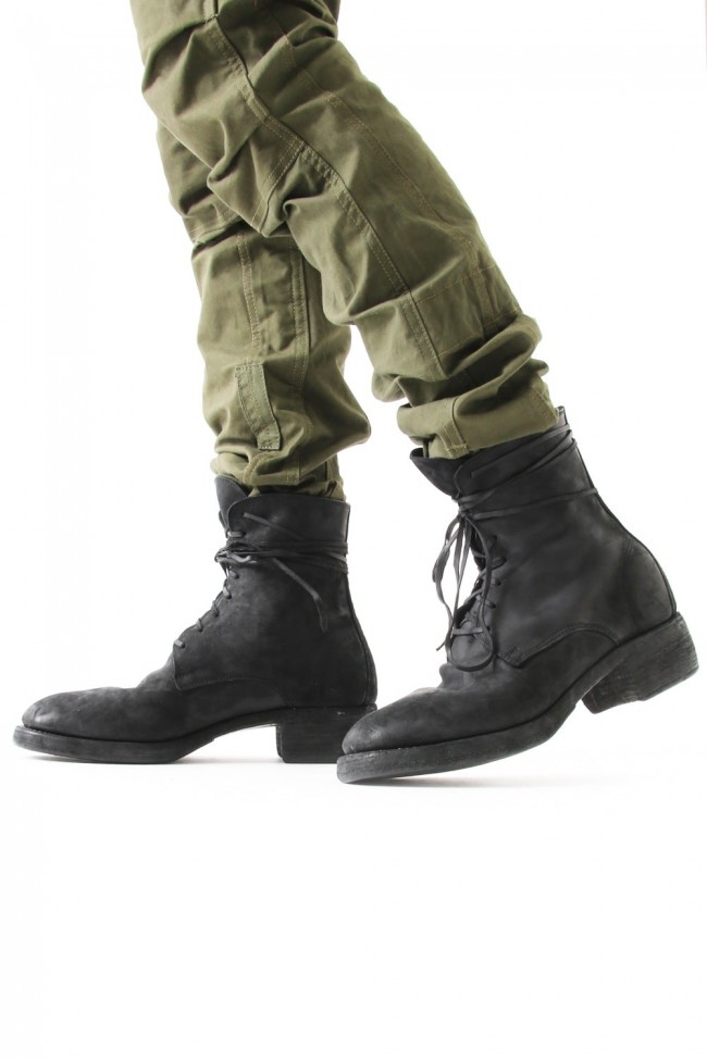 Laced Up Boots Double Sole - 795Z CORDOVAN CONT