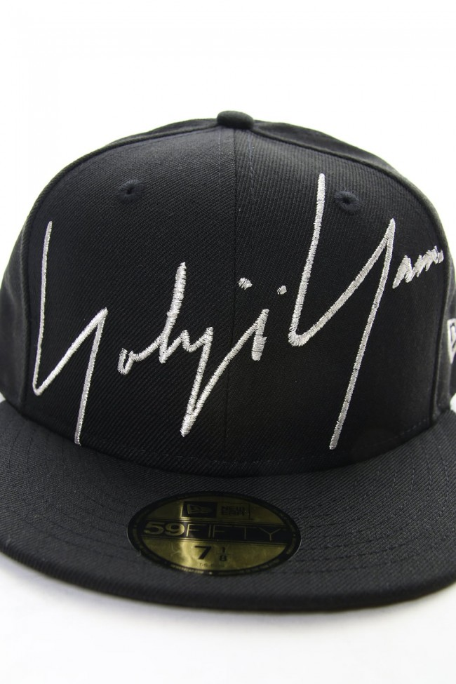 NEW ERA 59 FIFTY Zoom Up Signature Logo Black