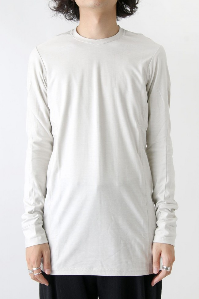 Long Sleeve Brushed Vintage Jersey Cotton